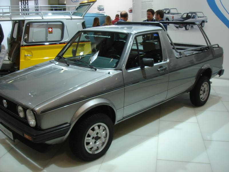VW Golf I Caddy
