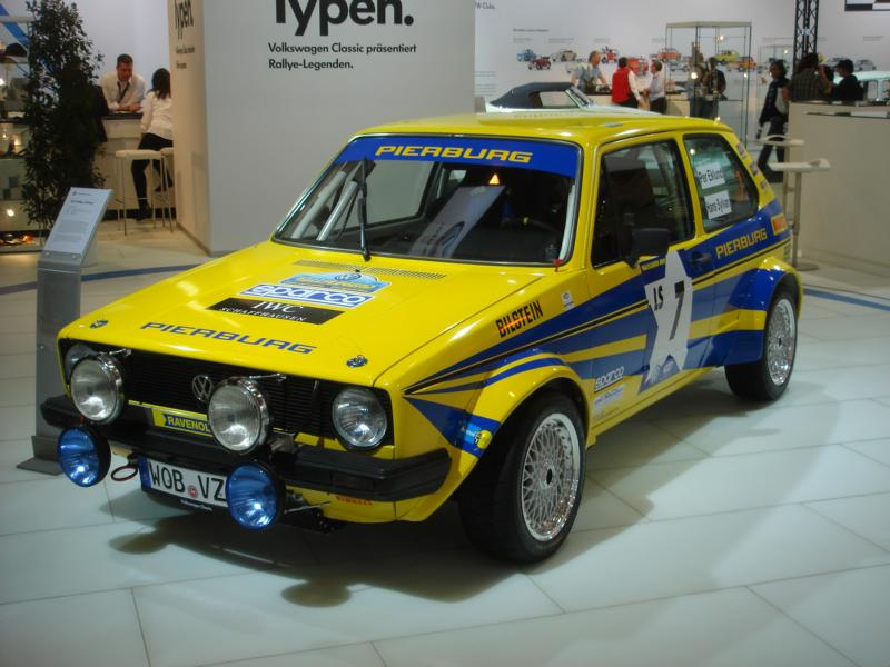 VW Golf I Rallywagen